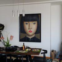 Portrait Picture Hanging
