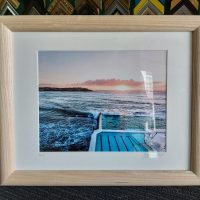 Wood Frame Print