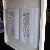 Book Frame Shadow Box